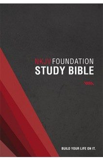 NKJV -  FOUNDATION STUDY BIBLE