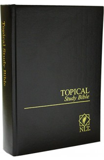 NLT - TOPICAL STUDY BIBLE