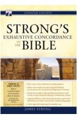STRONGS EXHAUSTIVE CONCORDANCE OF THE BIBLE