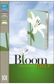 NIV - BLOOM COLLECTION BIBLE [WHITE LILY]