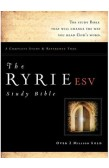 ESV - THE RYRIE STUDY BIBLE