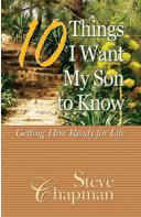 10 THINGS I WANT MY SON TO KNOW